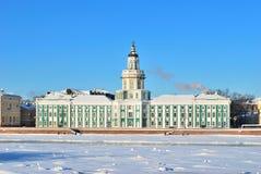 18个世纪kunstkammer彼得斯堡st 免版税库存照片