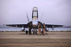 18个军团喷气机海洋s u xfa 库存照片