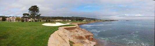18个海滩漏洞小卵石 免版税库存照片