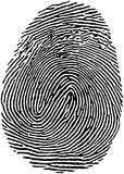 18指纹 免版税库存照片