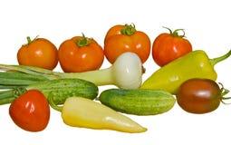 18新鲜蔬菜 免版税库存图片