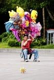 18气球可以台北台湾供营商 免版税库存照片