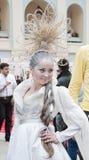 18竞争hairdresses组成 库存照片