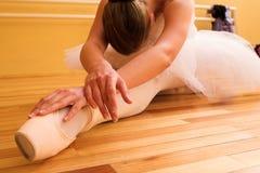 18芭蕾舞女演员 免版税库存图片