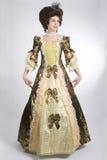 18 århundrade klänning Arkivfoton