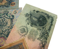 18 århundraden sist pengarwhite Arkivfoto