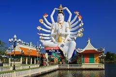 18 Βούδας δίνουν το ναό Στοκ Εικόνες