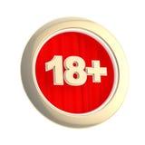 18 изолированный временами символ предела круглый Стоковая Фотография