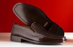 18 роскошных ботинок человека Стоковая Фотография RF