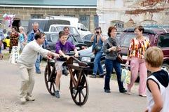 18 2011年节日6月krapivna荨麻俄国 免版税库存照片