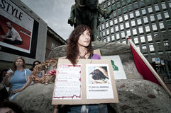 18 2011 держали veggie гордости милана в июне Стоковые Изображения