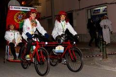 18 2012年狂欢节2月参与者 免版税库存图片