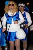 18 2012年狂欢节2月参与者 免版税库存照片