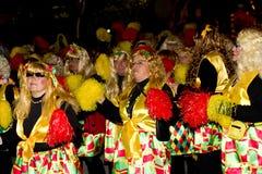 18 2012年狂欢节2月参与者 库存照片