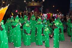 18 2012 участников в феврале масленицы Стоковая Фотография RF