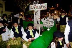 18 2012 karnevalfebruari deltagare Royaltyfri Foto