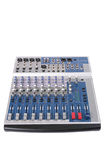 18-channel audio mixing console Stock Photography
