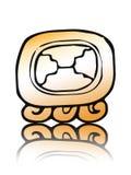 18 Etznab - sceau de calendrier de Maya Photo libre de droits