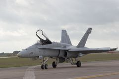 18 f喷气机 库存照片
