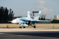18 f figter喷气机海军 免版税库存照片
