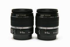 18 lentille deux de 55 classiques Photographie stock libre de droits