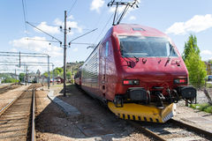 18 lokomotywa el Zdjęcie Stock