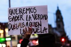 18 Mar 2019 - Marzec dla obrony JEP, Specjalna jurysdykcja dla pokoju Bogotà ¡ Kolumbia zdjęcie royalty free