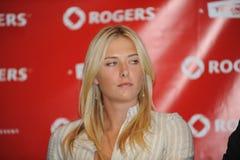 18 maria rogers för 2009 kopp sharapova Arkivbild