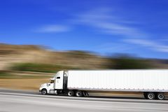 18 wheeler Royalty Free Stock Photos