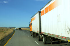 18 wheeler Royalty Free Stock Photography