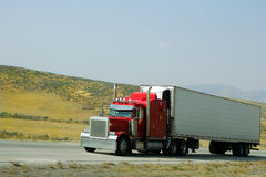 18 wheeler Royalty Free Stock Images