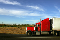 18 wheeler Royalty Free Stock Photo