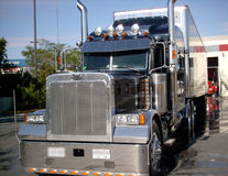 18 Wheeler Large Car stock photography