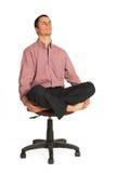180企业瑜伽 免版税图库摄影