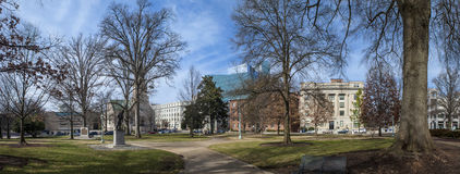 180 degree panorama of raleigh north carolina Stock Photography