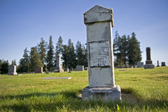 1800 ταφόπετρα το παλαιό s Στοκ Εικόνες