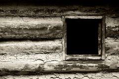1800 bw homestead domu s granicy okno Zdjęcia Stock
