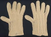 1800's antieke handschoenen Royalty-vrije Stock Foto