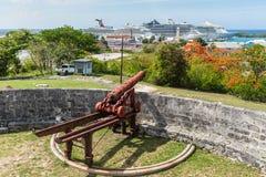 Free 1800s Era Cannon On Fort Fincastle, Nassau, Bahamas Royalty Free Stock Photo - 188166335