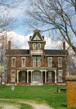 1800s historiques de maison de brique Photo stock