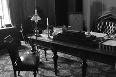 1800s stijl uitvoerend bureau Stock Foto's