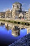 1802 δικαστήρια Δουβλίνο τέ&sigm Στοκ Φωτογραφίες