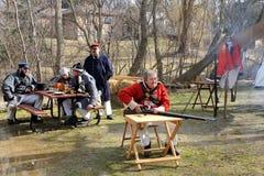 1812位战士战争年代 库存图片