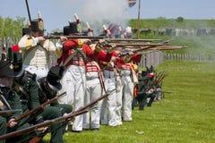 1812年再制定战争 免版税库存图片
