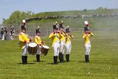 1812年再制定战争 图库摄影
