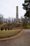 1813年纪念碑战争 库存照片
