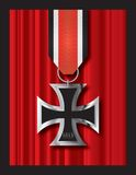 1813 krzyżowania żelaza Obrazy Royalty Free