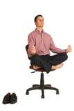 182企业瑜伽 免版税图库摄影