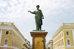 1825 dyuk Odessa rishelie Ukraine rok Obrazy Royalty Free