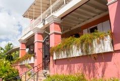 1829年旅馆在夏洛特Amalie圣托马斯 库存图片